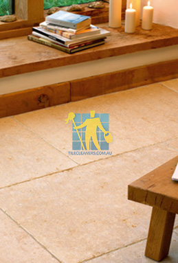 limestone tiles tumbled jerusalem gold melbourne cleaning