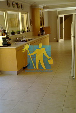 porcelain tiles floor inside furnished home after cleaning kitchen floors melbourne