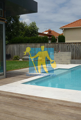 outdoor sandstone tiles pool coping snow white melbourne