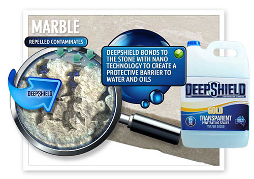 deepshield gold generic marble